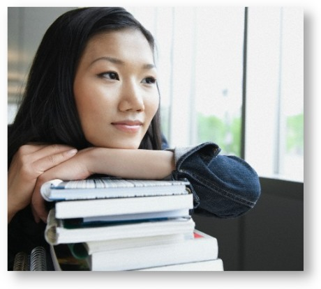Asian Americans in higher education © Rachel Frank/Corbis