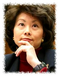 Secretary of Labor Elaine Chao © Time Magazine