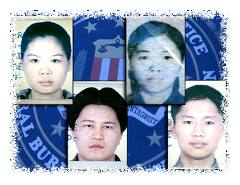 Suspected Chinese terrorists © Associated Press