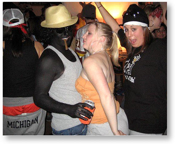 Blackface party at Clemson University on Martin Luther King Jr. Day