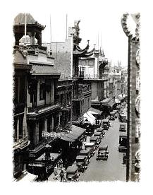 San Francisco's Chinatown around 1930 © Corbis