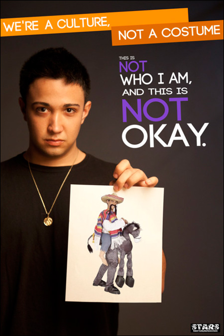 We're a Culture, Not a Costume - Students Teaching About Racism in Society