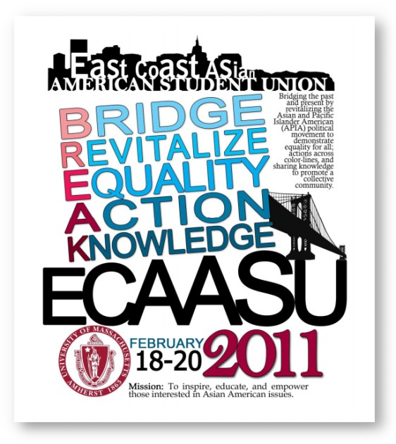 East Coast Asian American Student Union Conference 2011 at UMass Amherst