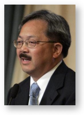 Ed Lee © San Francisco Chronicle