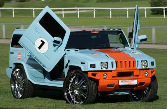 Hummer H2 customized by Geiger Cars