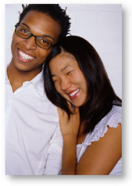 Interracial couples asian and black