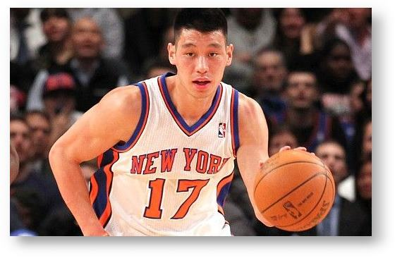 Jeremy Lin, point guard for the New York Knicks © Anthony Gruppuso/US Presswire