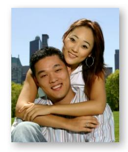 Korean American couple in New York City © Art Vandalay and Getty Images