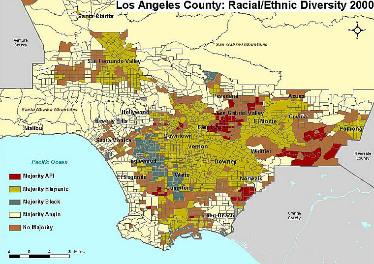 Ethnic Communities Enclaves AsianNation Asian American - Us map by ethnicity