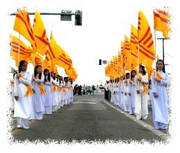 Vietnamese American parade in Little Saigon © VNYouth.com
