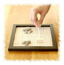 Miniature zen garden © Jim Boorman/Getty Images