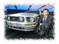 Hau Thai-Tang and the 2005 Mustang © USA Today