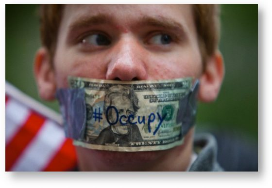 Occupy Wall Street participant © Julie Dermansky/Corbis