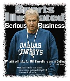 Bill Parcells on a Sports Illustrated cover © Sports Illustrated