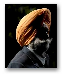 Sikh Indian American © Andy Reynolds and Getty Images