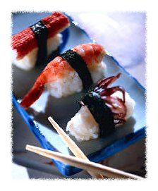 As American as mom and...sushi © Corbis