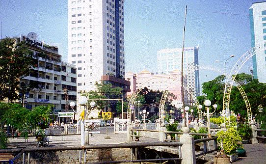 One view of downtown Saigon © Asian-Nation/C.N. Le