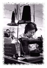 Working in the garment industry © Corbis
